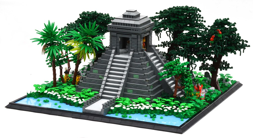 Jungle Temple - Patrick Massey