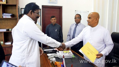 P.Aingaranesan sworn in as Acting Chief Minister