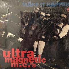 ULTRAMAGNETIC MC'S:MAKE IT HAPPEN(JACKET A)