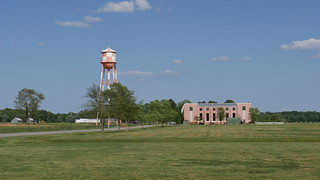Water tower & Main building