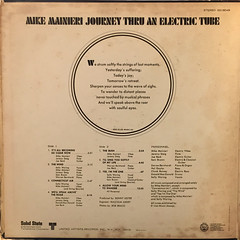 MIKE MAINIERI:JOURNEY THRU AN ELECTRIC TUBE(JACKET C)