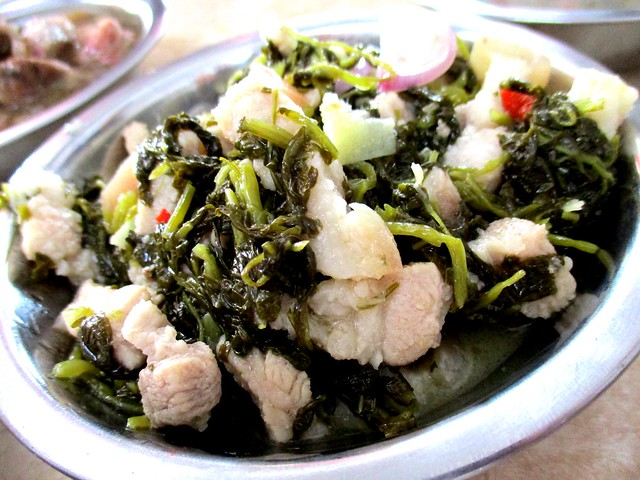 Anak Borneo kasam ensabi with pork