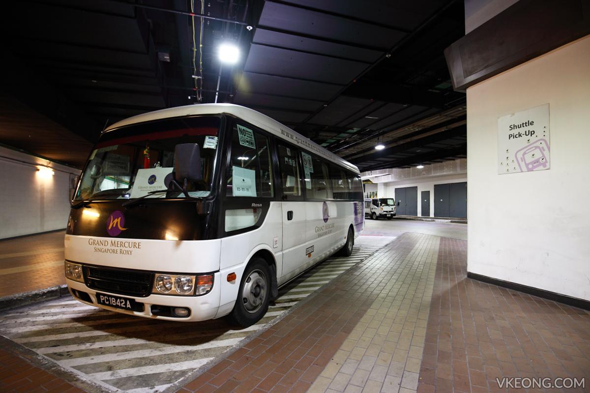 Grand Mecure Roxy Shuttle Van