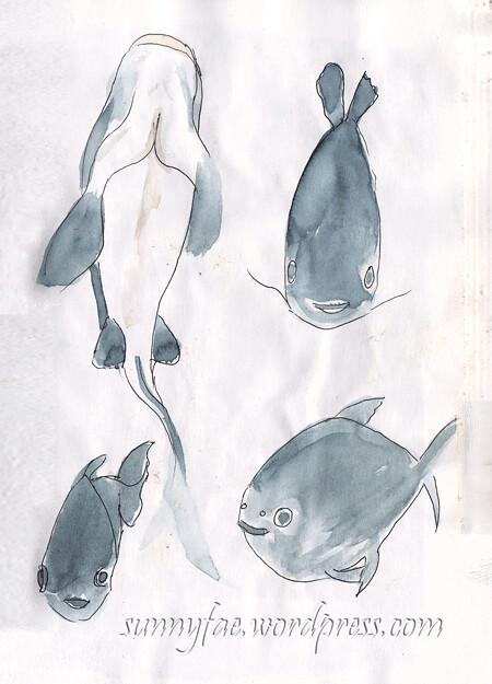 fish sketch 1