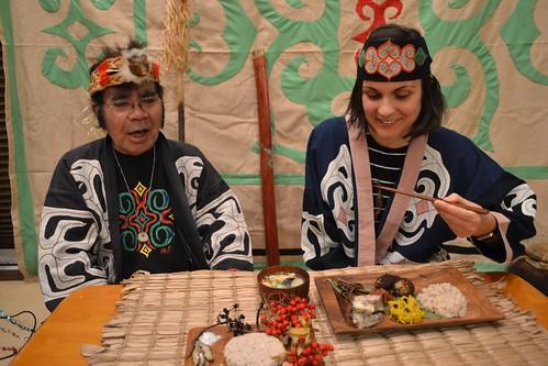 [アイヌ文化ツアー]アイヌ料理を楽しむ ([Ainu culture tour] Enjoy Ainu cuisine)