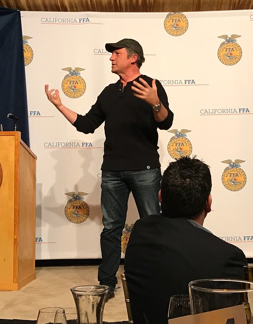 Mike Rowe at the California FFA Foundation Blue & Gold Gala