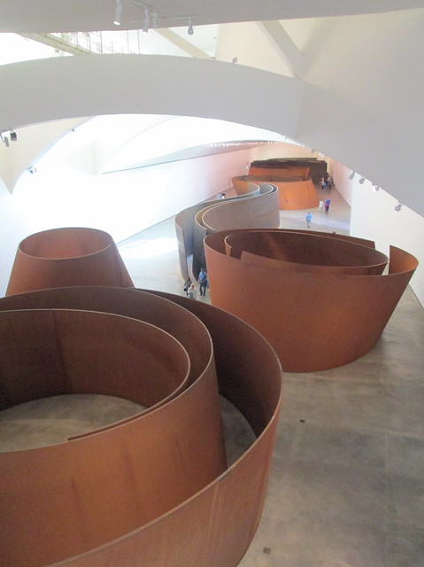 Guggenheim Museum, Bilbao, First Exhibit
