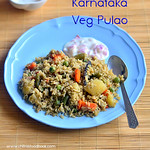 Karnataka style vegetable pualo recipe