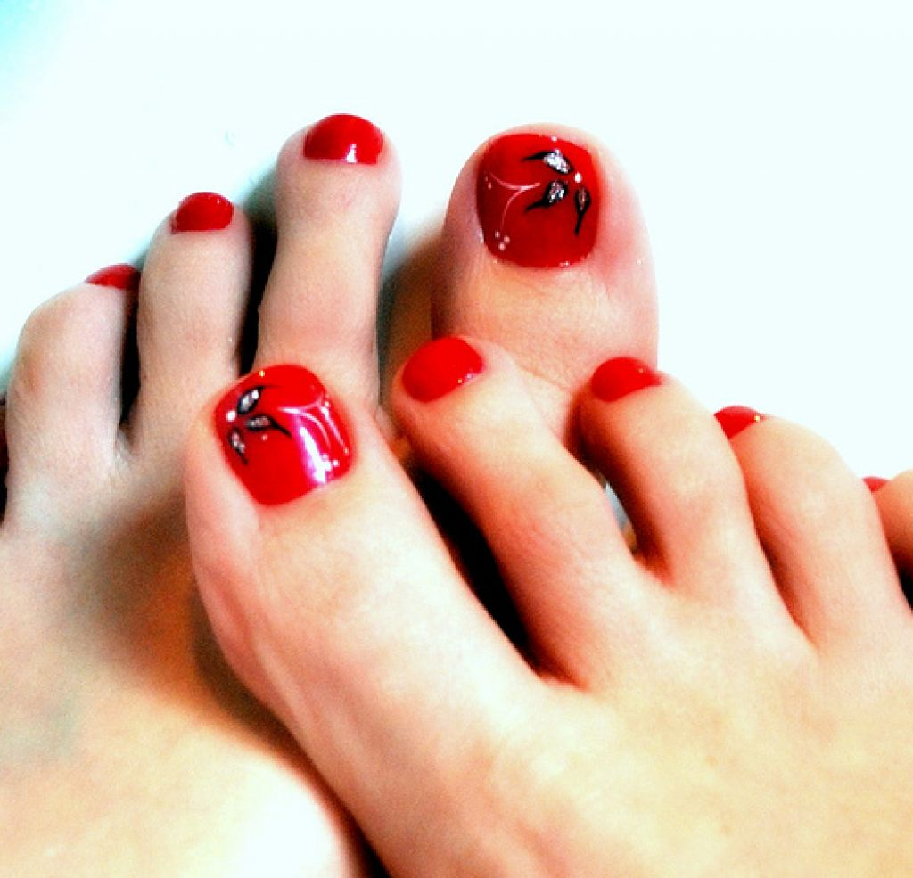 ... Red And Black Toe Nail Designs | by aconk_okinawa - Red And Black Toe Nail Designs Via Nail Designs Blog Ift.t… Flickr