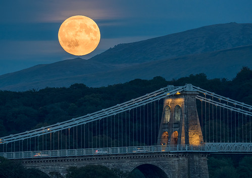 'Menai Moonrise' - Anglesey | by Kristofer Williams