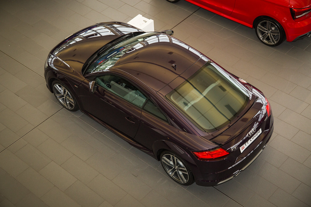Merlin Purple Audi Tt Listers Group Flickr