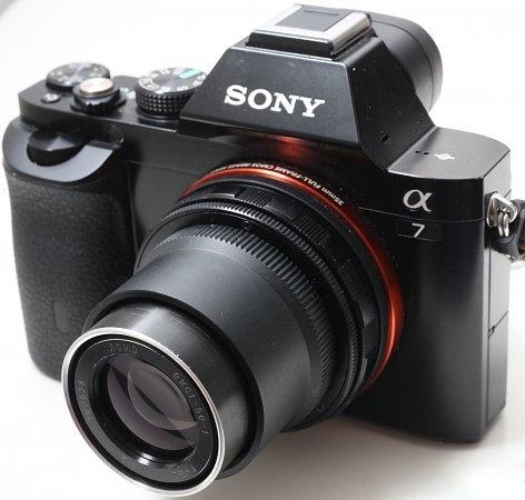 二手鏡頭 香港 . . .LOMO OKC1-50-1 50mm f/2.0蘇聯散景鏡皇(35mm大電影鏡改A7) 媲美貴價電影鏡