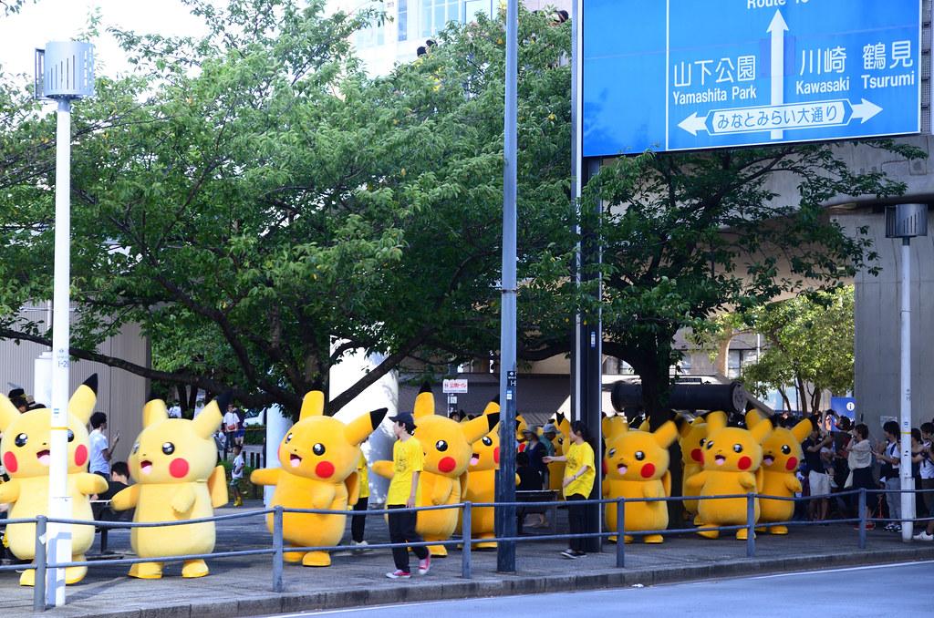 Pikachu Parade in Yokohama 6