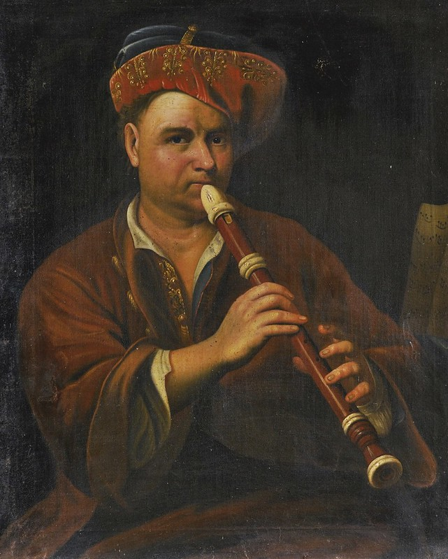 After Jan Kupecký - Recorder Player