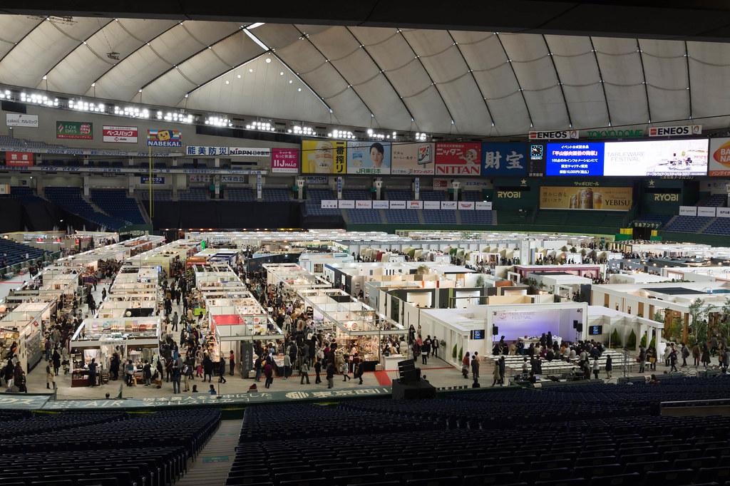 東京ドーム1個分の開催スペース