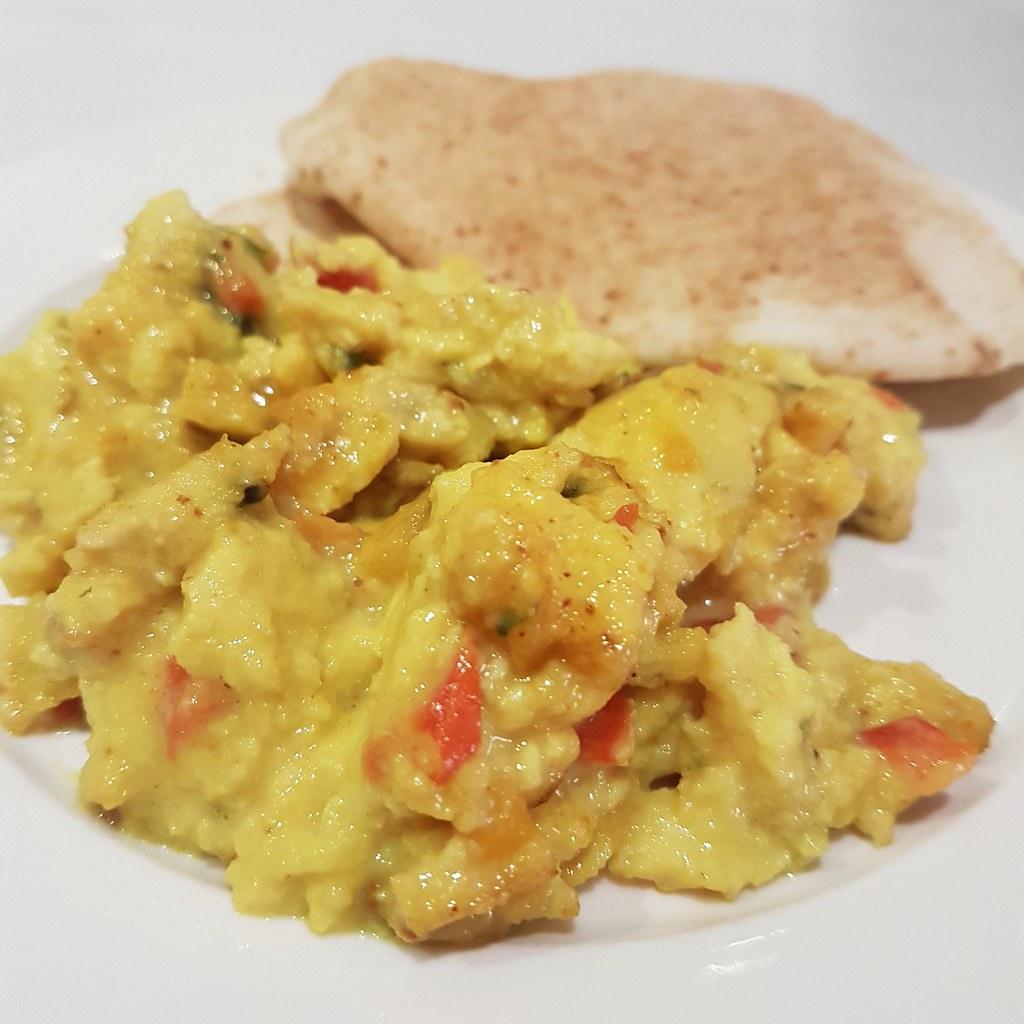 Egg Bhurji, Breakfast @ Al Safir Hotel, Bahrain