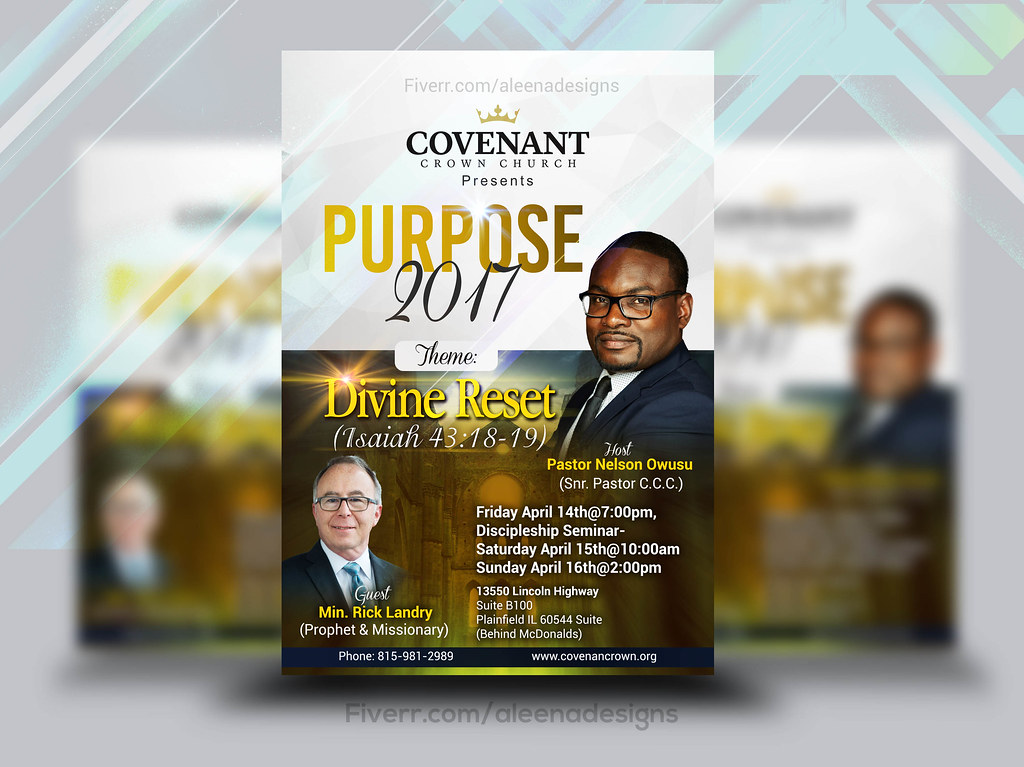covenant crown church flyer by church flyers amelia
