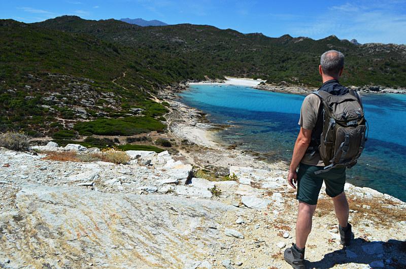 Hot walking, St Florent, Corsica