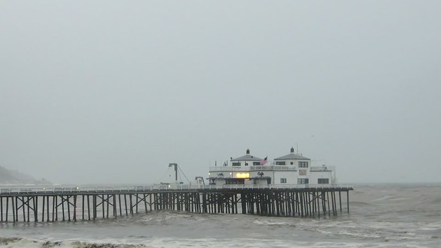 malibu pier on friday