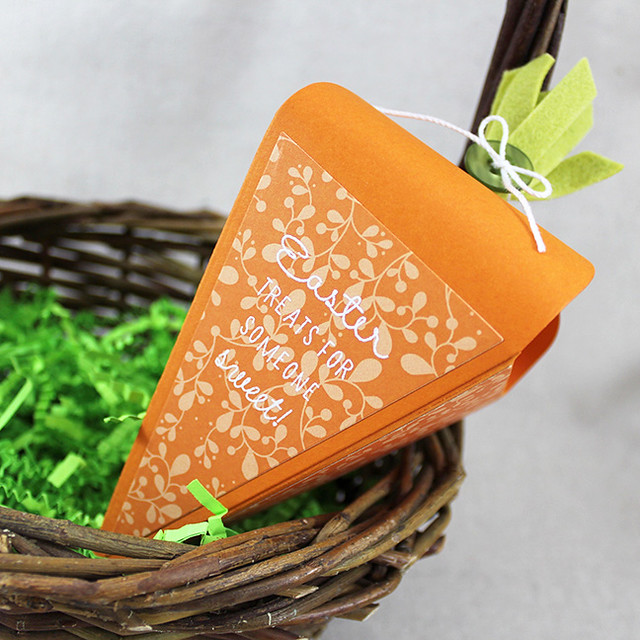 Easter Treats Carrot Box