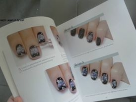 galaxie star nail art