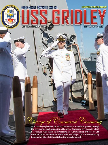 USS Gridley Change of Command