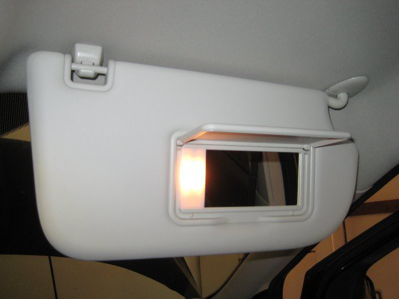 2013 2016 ford escape sun visor vanity mirror light ch flickr. Black Bedroom Furniture Sets. Home Design Ideas