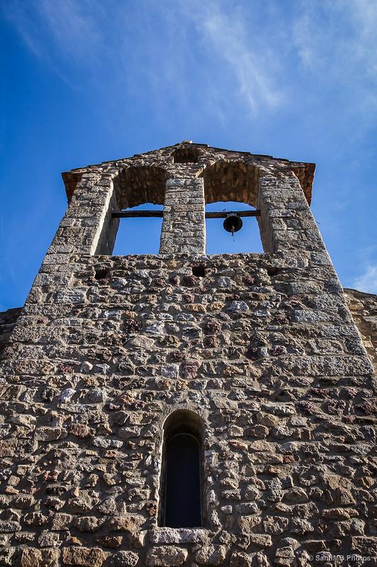 Fachada oeste de Sant Briç de Tapis