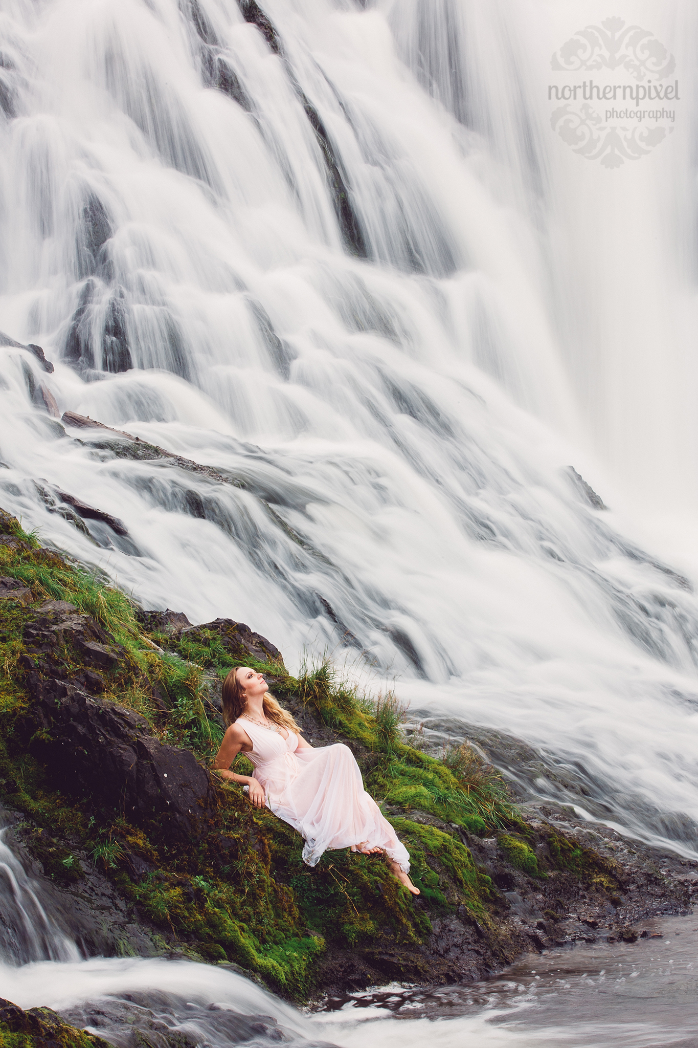 Waterfall Fashion Photography Prince George British Columbia Photographers