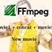 Ffmpegで複数動画を結合して一つの動画に出力