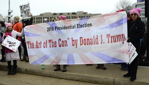 Women's March On Washington Against Trump 11