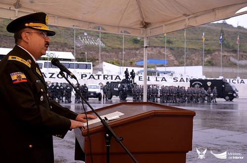 Dentro del proceso postularon polic as de los cuales for Ministerio del interior ecuador