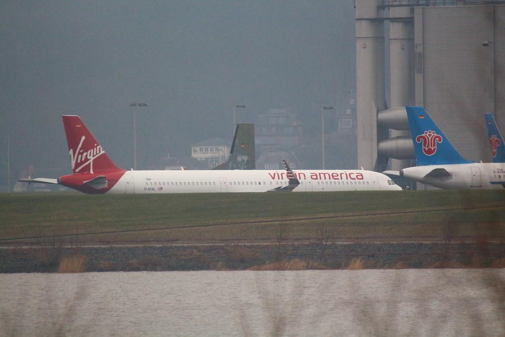 A321neo Virgin America N921VA