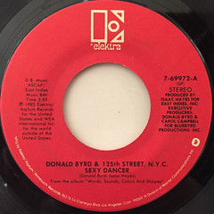 DONALD BYRD & 125th STREET, N.Y.C.:SEXY DANCER(LABEL SIDE-A)
