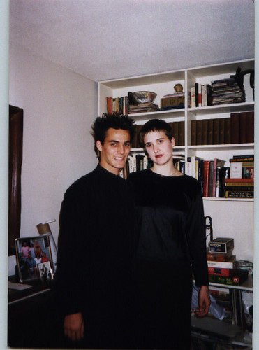 With Simon in New York, January 1999(?) | by avengingophelia