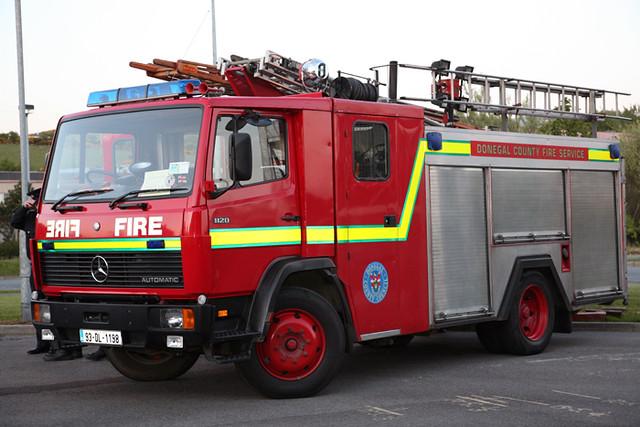 Buncrana Fire Tender | one of the local brigades tender ...