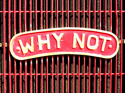 Why Not | by Dave Gorman
