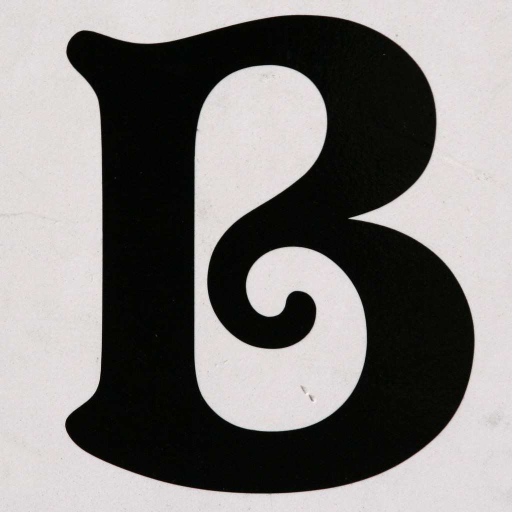 ... Letter B | By Leo Reynolds