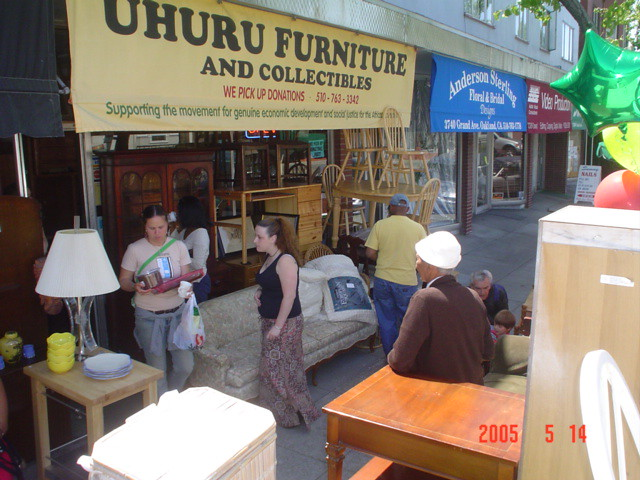 Uhuru Furniture 3742 Grand Ave Oakland Ca Uhurushop Flickr