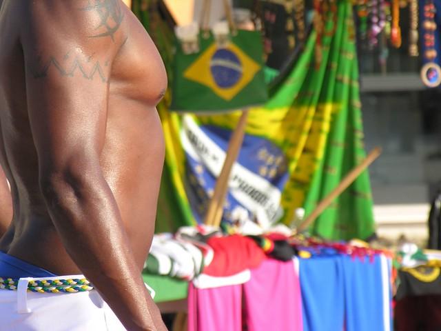 Capoeira Afro Brazilian ritual dance