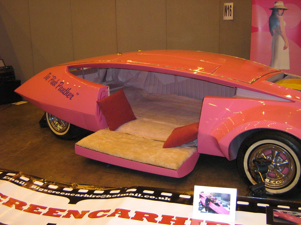 pink panther car interior michael conde flickr