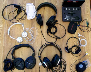Gathered for the IHR Headphone Roundup | by Derek K. Miller