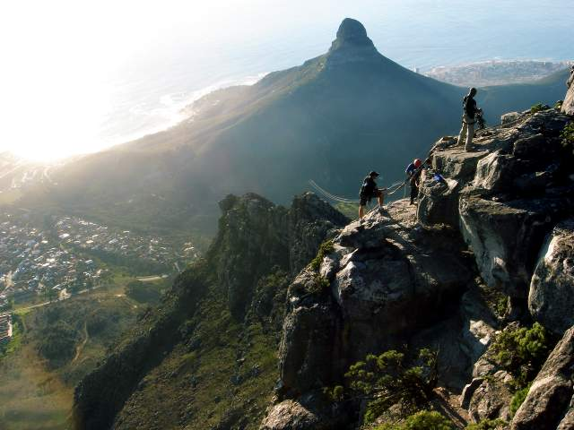 Table Mountain - Lion's Head