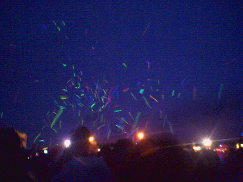 String Cheese Incident Glowstick War at 10KLF | by KaneJamison.com