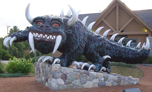 Giant Hodag | by RoadsideArchitecture.com