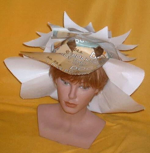 29 1 paper hats papierhut papier h te aus recycling. Black Bedroom Furniture Sets. Home Design Ideas