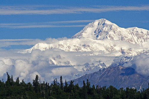 Denali from McKinley Princess Lodge, right | by Unhindered by Talent