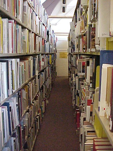 More Loaded Shelves - Art Library | by Queen's University Library