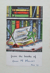 Bookplate - The Sword in the Stone | by D. S. Hałas