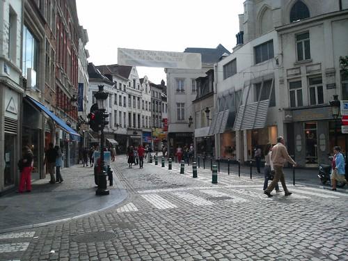 Brussels Downtown Chiva Congelado Flickr